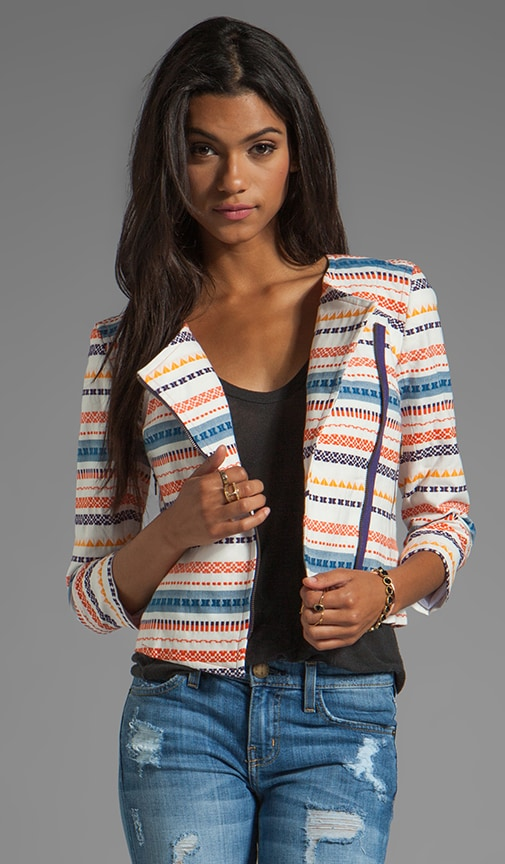 Berber Stripe Beatrix Jacket