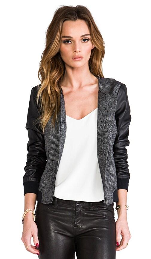 Patchwork Weave Slugger Jacket