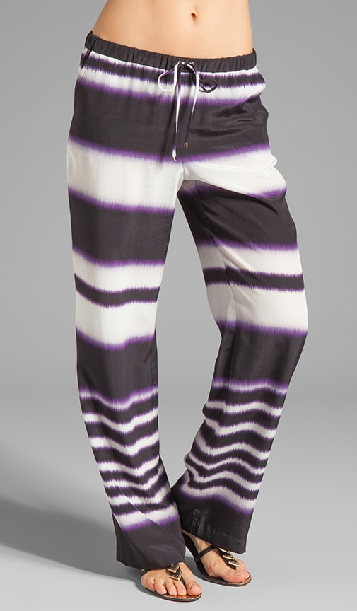 Ink Stripe Ikat Yuma Pant