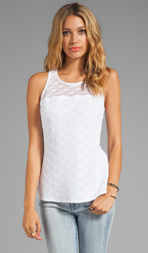 Hexagon Open Lace Deanna Top