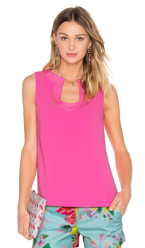 Trina Turk Kayson Top in Pink