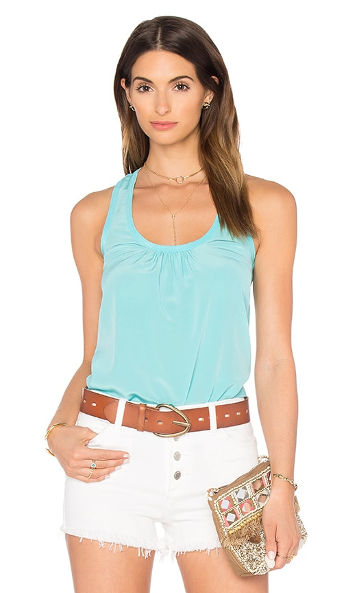 Trina Turk Sparrow Tank in Turquoise