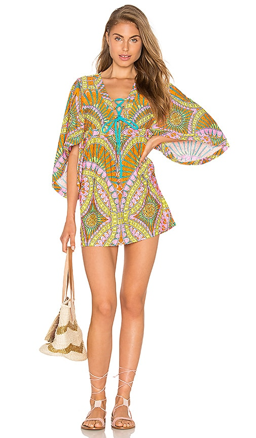 Trina Turk Tunic in Orange