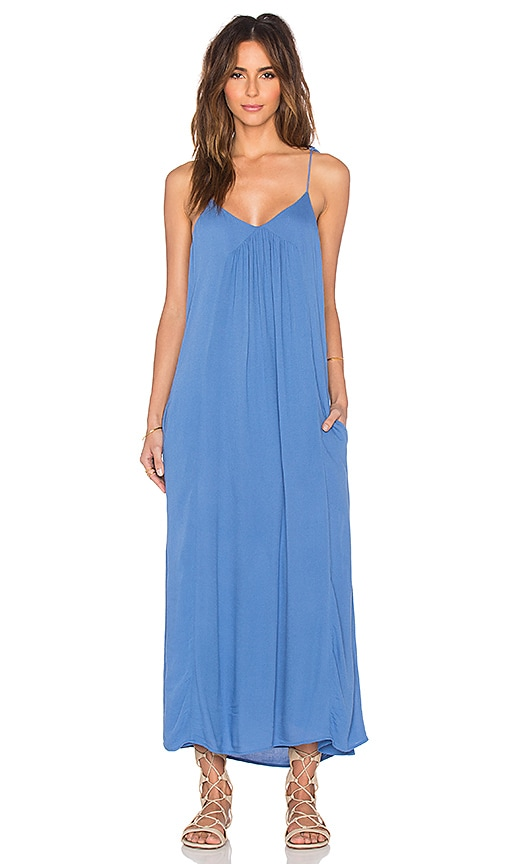 Tt Beach Sloan Maxi Dress in Periwinkle