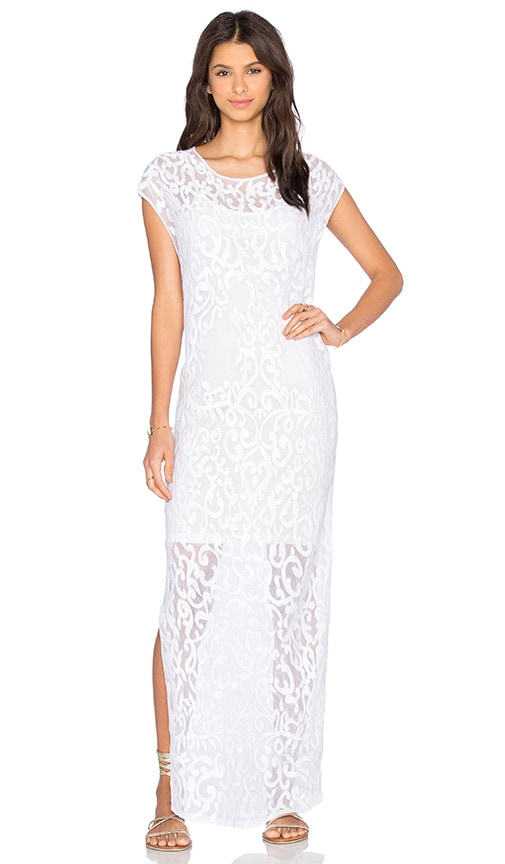 Tt Beach Chloe Mesh Dress in White
