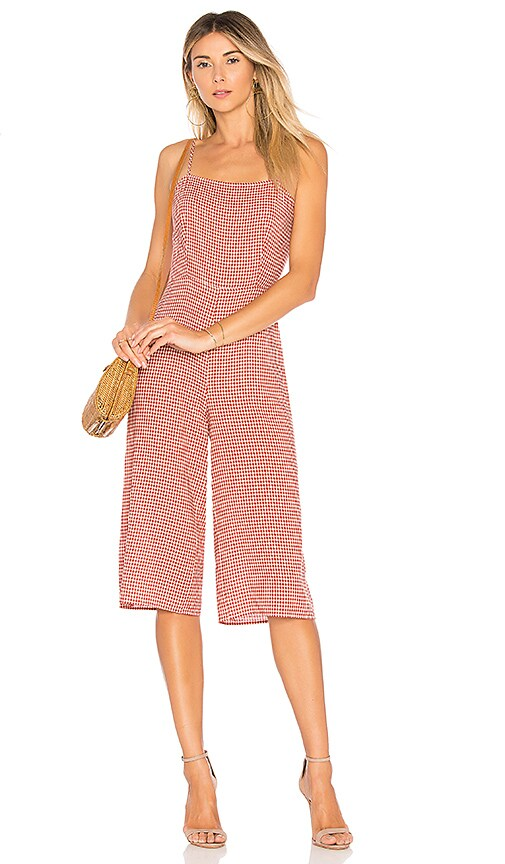 Tularosa Isabeli Jumpsuit in Red