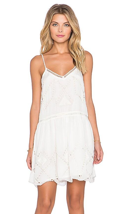 Tularosa London Slip Dress in Ivory