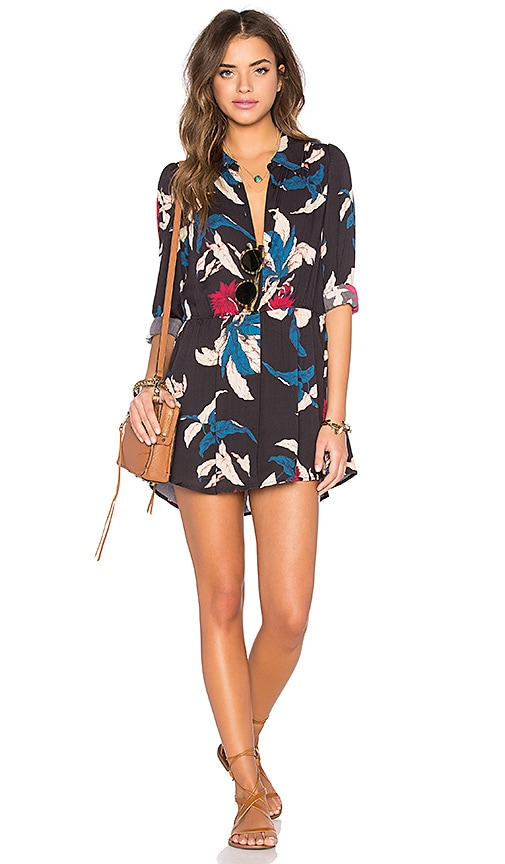 Tularosa Lola Dress in Tropical Floral