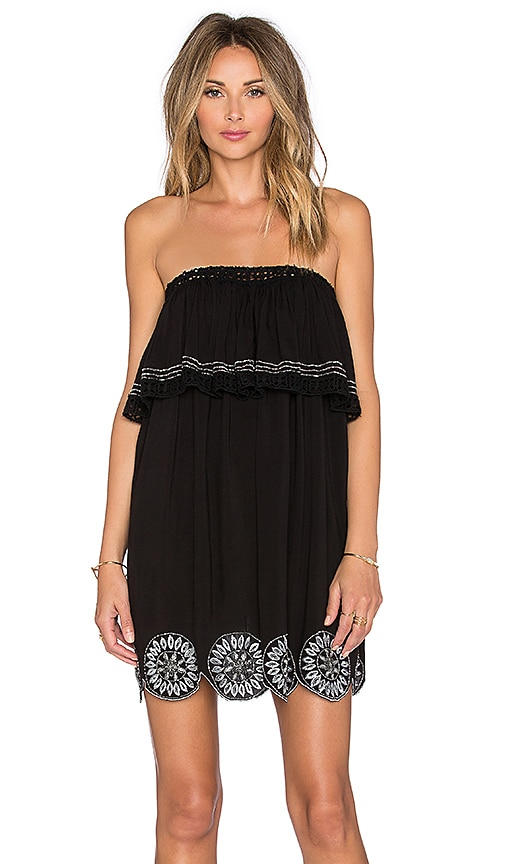 Tularosa Desert Moon Dress in Black