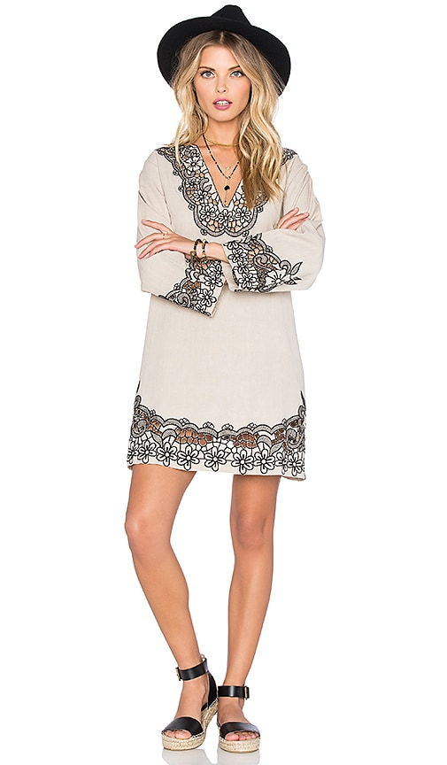 Tularosa Cosmos Tunic in Gray