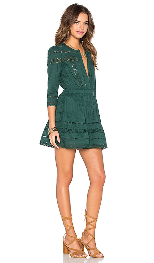 52ed49741d3 Tularosa x REVOLVE Payton Dress in Hunter Green 70%OFF - www ...