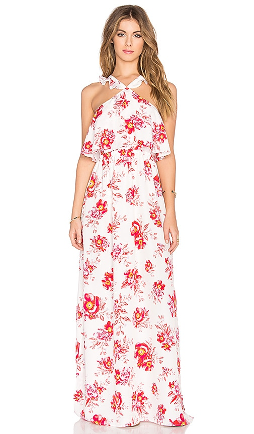 Tularosa x REVOLVE Santorini Maxi Dress in White
