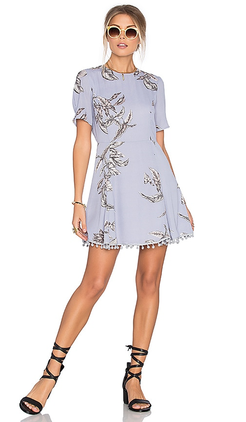 Tularosa Iris Dress in Blue