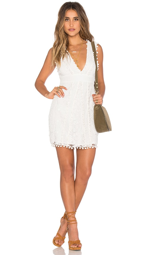 Tularosa Vesta Dress in White
