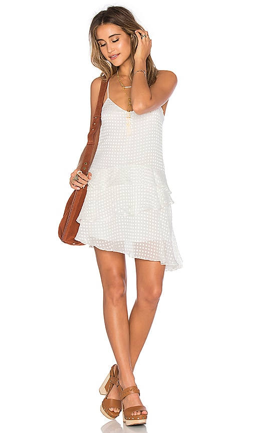 Tularosa x REVOLVE Tenley Dress in White Dot