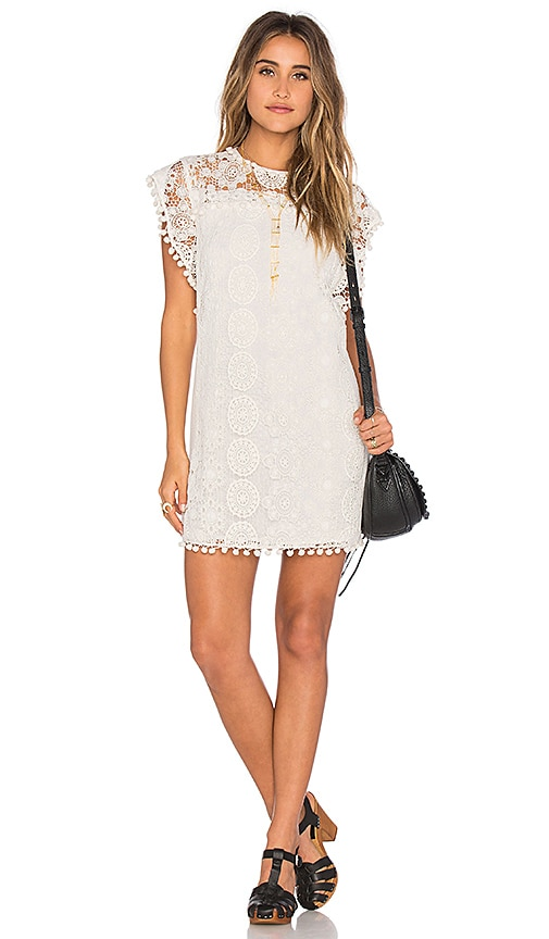 Tularosa Elba Dress in White