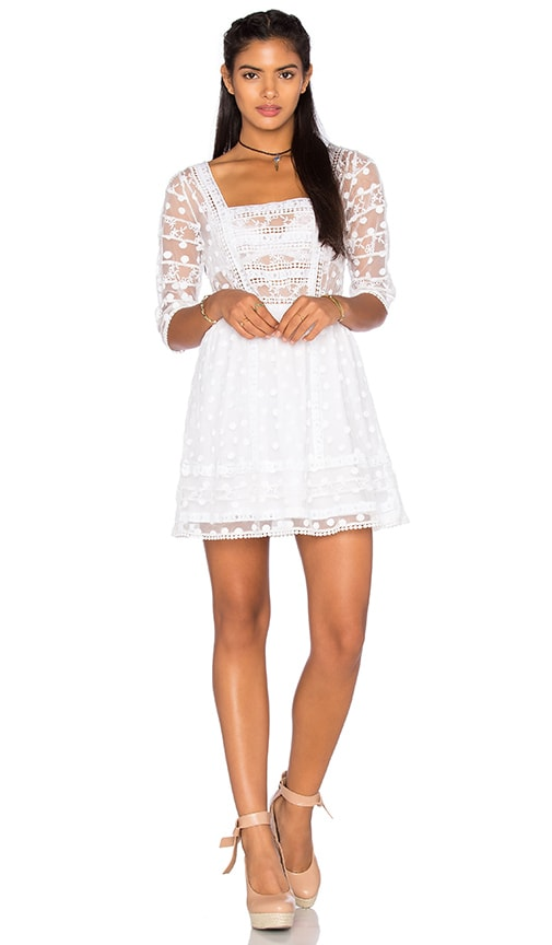Tularosa Jolie Dress in White