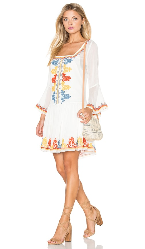 Tularosa Creseda Dress in Butter