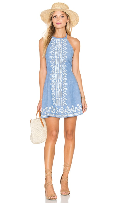 Tularosa Otto Dress in Blue