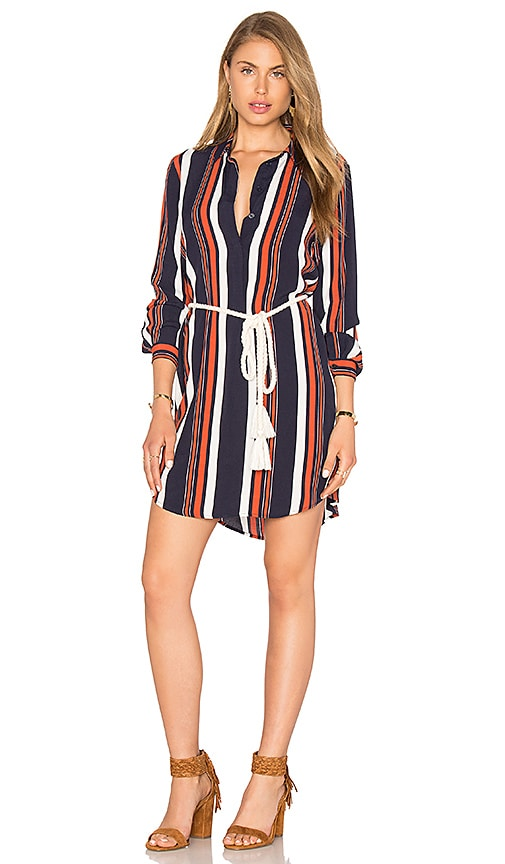 Tularosa James Shirt Dress in Navy