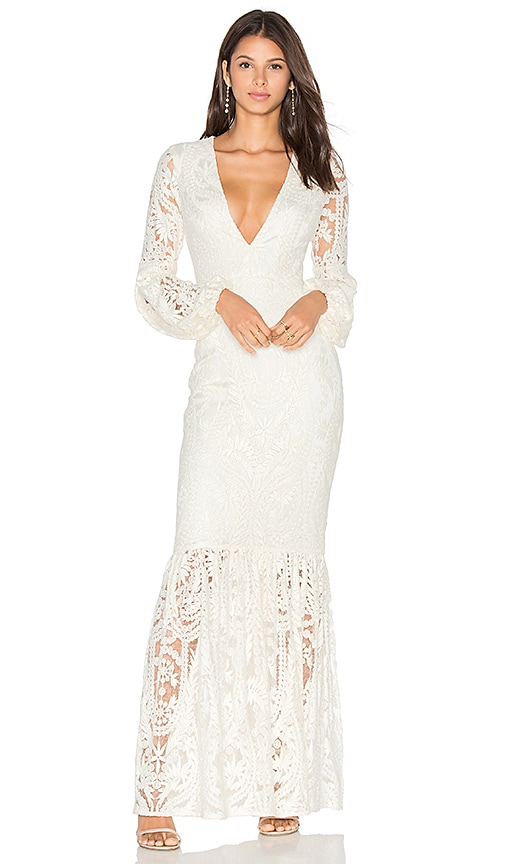Tularosa x REVOLVE Cliffside Gown in Ivory
