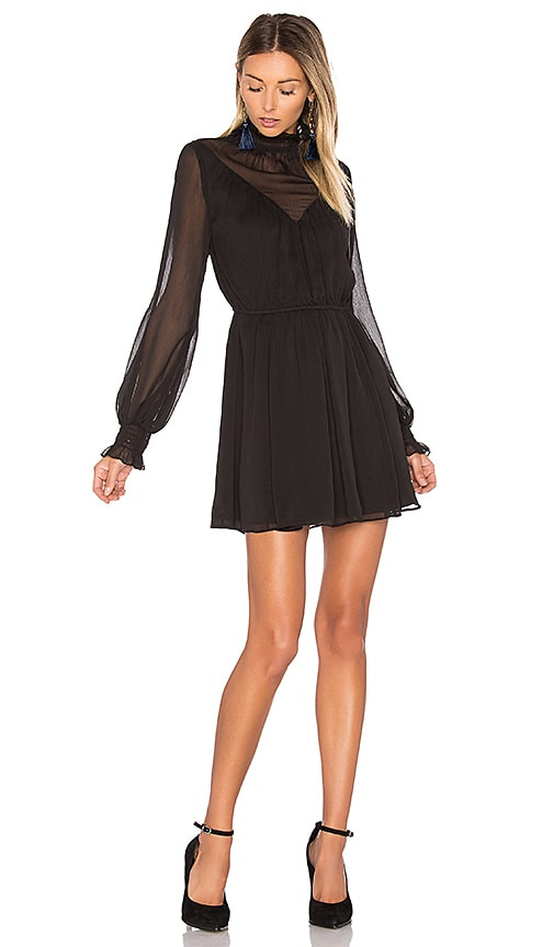 Tularosa Nadia Dress in Black