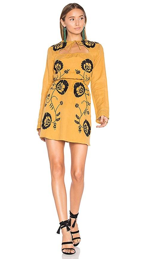 Tularosa Keelan Dress in Mustard