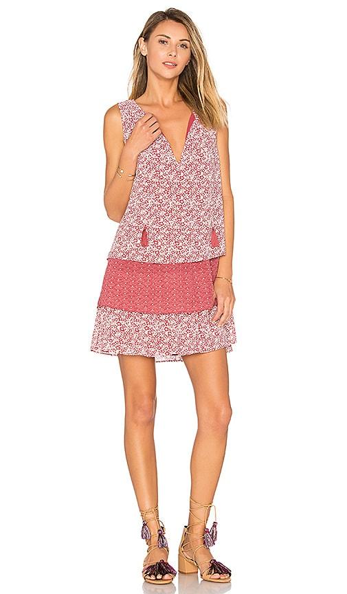 Tularosa Brady Dress in Fuchsia