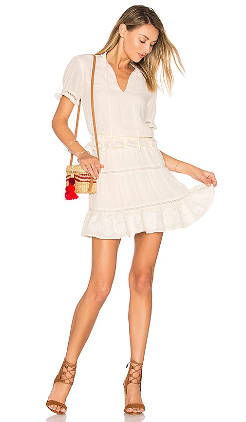 Tularosa Colleen Dress in Ivory