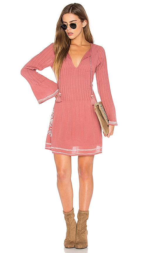 Tularosa Audrey Dress in Pink