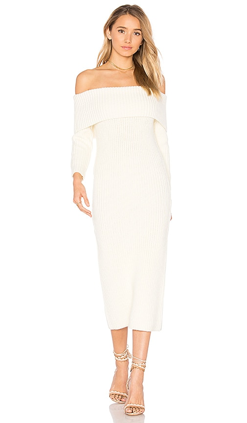 Tularosa Pia Knit Dress in Cream