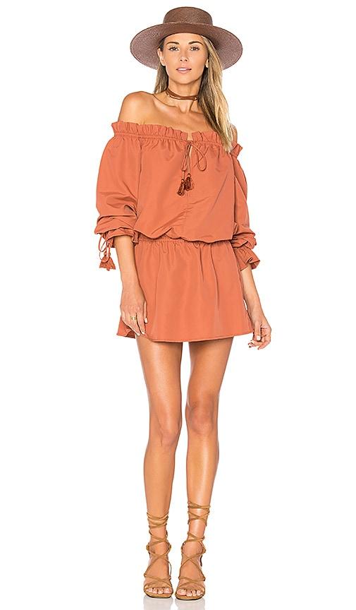 Tularosa x REVOLVE Falon Dress in Rust