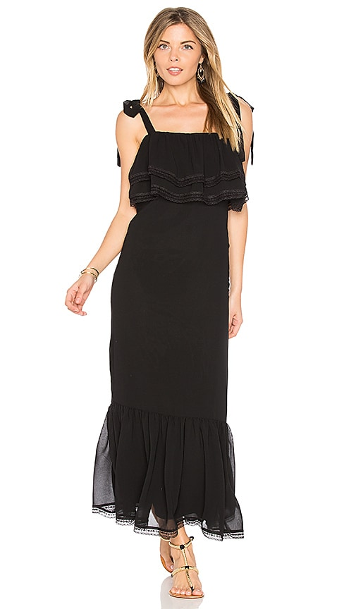 Tularosa x REVOLVE Christina Slip Dress in Black