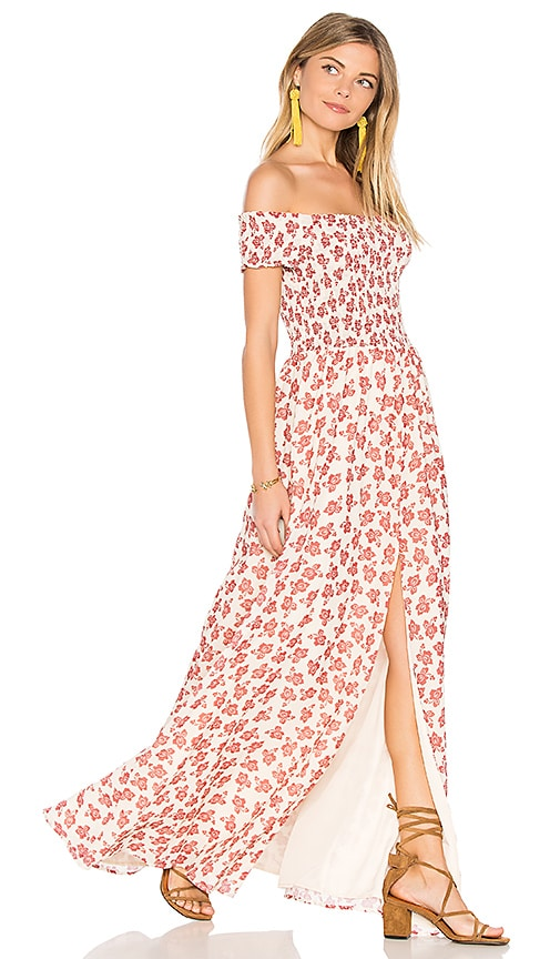 Tularosa Henderson Maxi Dress in Rust