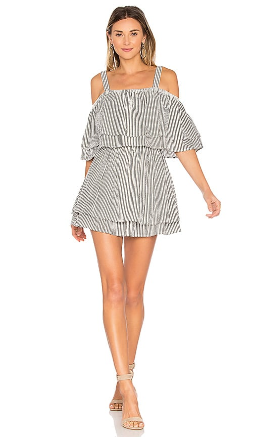 Tularosa Bay Dress in Black & White