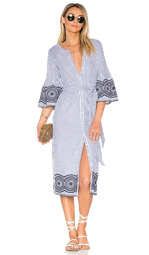 Tularosa x REVOLVE Halo Midi Dress in Blue