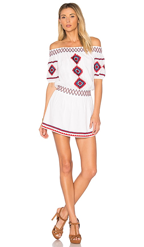 Tularosa Marietta Dress in White