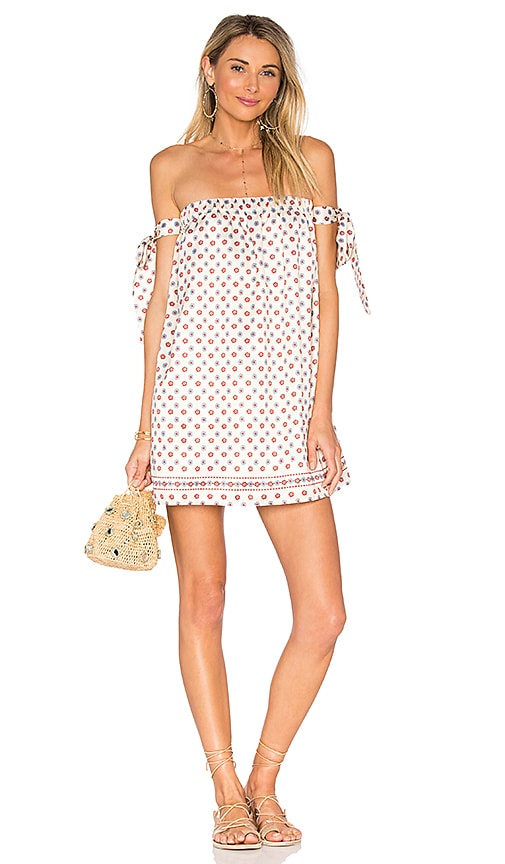 Tularosa Perry Dress in Ivory