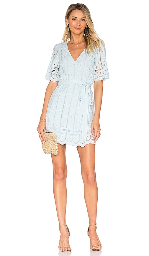 Tularosa x REVOLVE Rocky Dress in Baby Blue