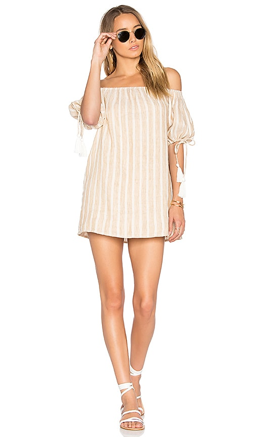 Tularosa x REVOLVE Kya Dress in Beige