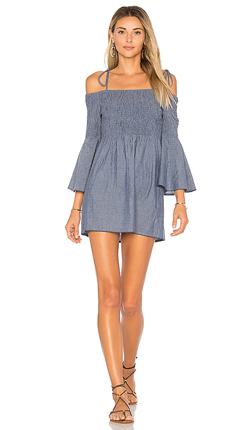 Tularosa x REVOLVE The Social Dress in Blue