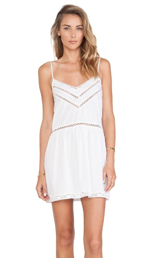 Tularosa London Slip Dress in White