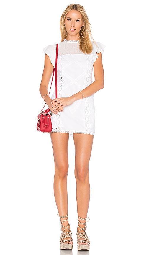 Tularosa Clayton Dress in White