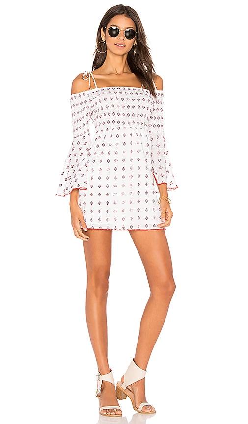 Tularosa x REVOLVE The Social Dress in White