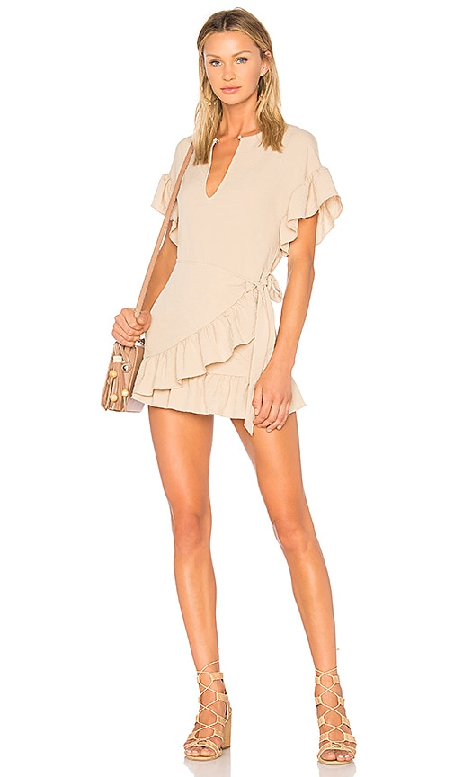 Tularosa Jenny Dress in Tan