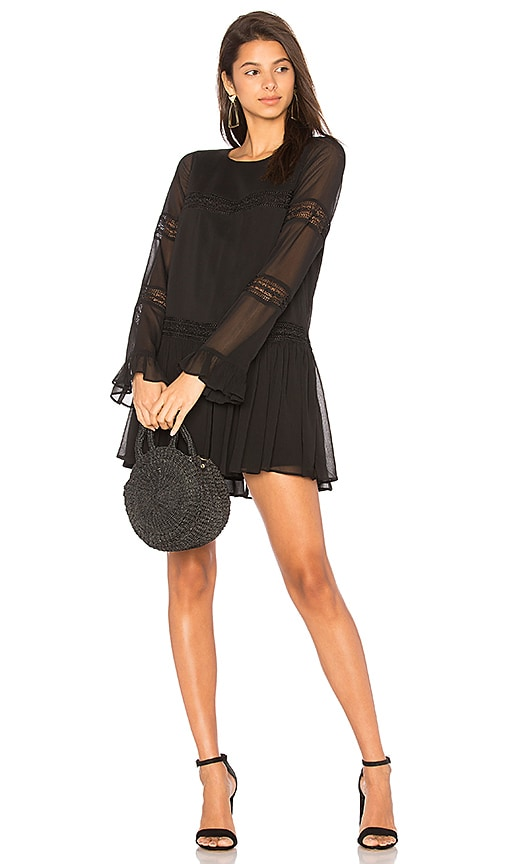 Tularosa Berkley Dress in Black