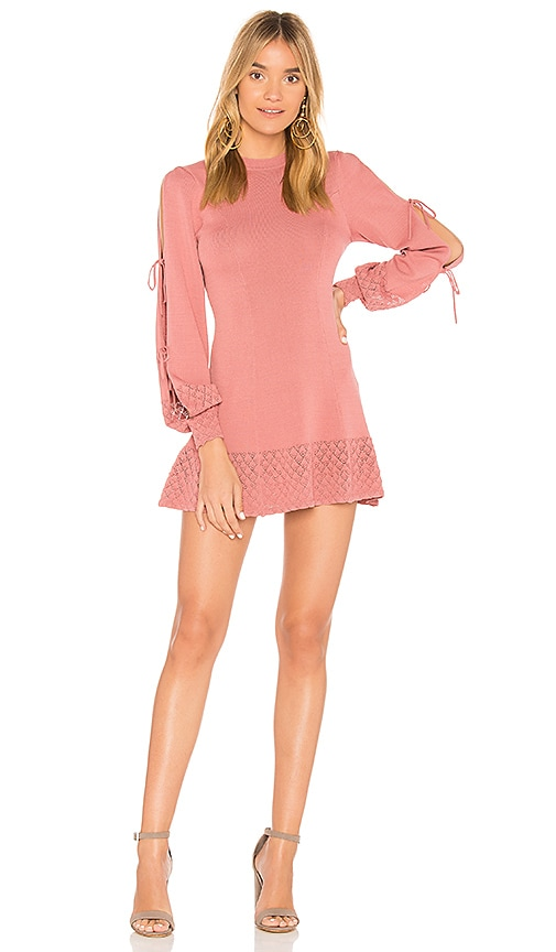 Tularosa Claire Dress in Rose