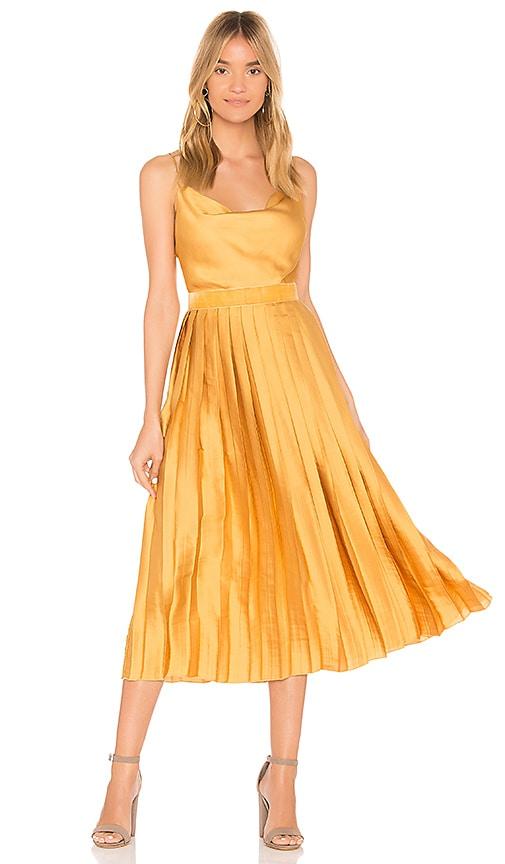 Tularosa Mel Dress in Yellow