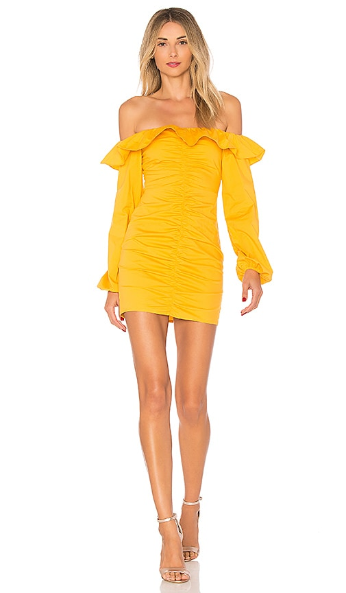 Tularosa Zuri Dress in Yellow