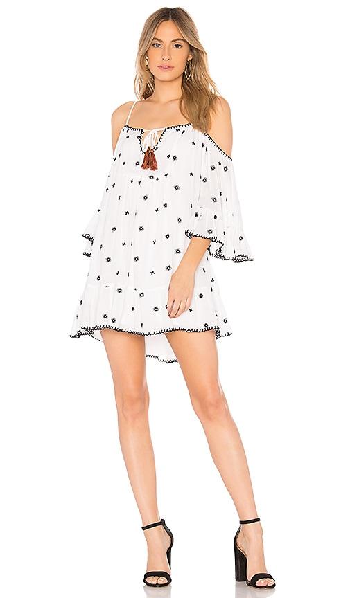 Tularosa Hattie Dress in White